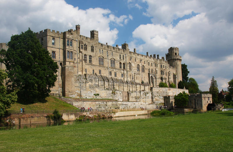Download Warwick Castle in England stock image. Image of river - 29255975