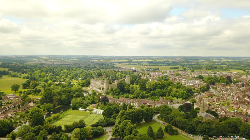 Warwick castle royalty free stock images