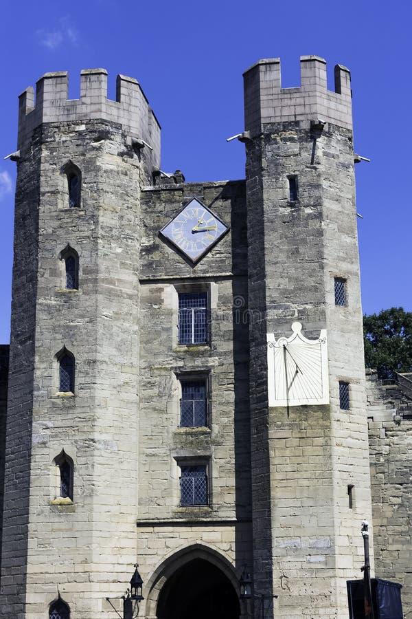 Warwick Castle - Gatehouse foto de archivo