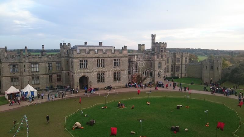 Warwick Castle ?? royalty free stock images