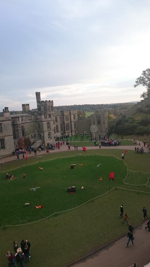 Warwick Castle ?? stock images