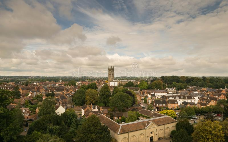 Warwick, het Verenigd Koninkrijk - September 19, 2016 stock foto