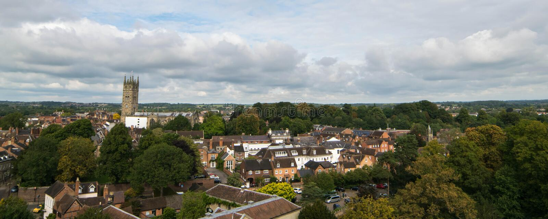 Warwick, Royaume-Uni - 19 septembre 2016 photos stock