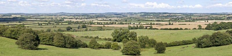 Warwickshire-Landschaft stockfoto
