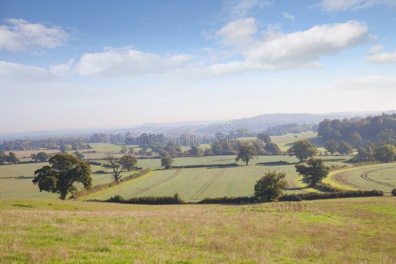 Warwickshire-Landschaft, England lizenzfreie stockbilder