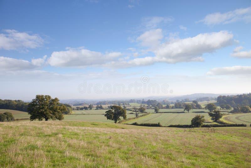 Warwickshire-Landschaft, England lizenzfreie stockfotos