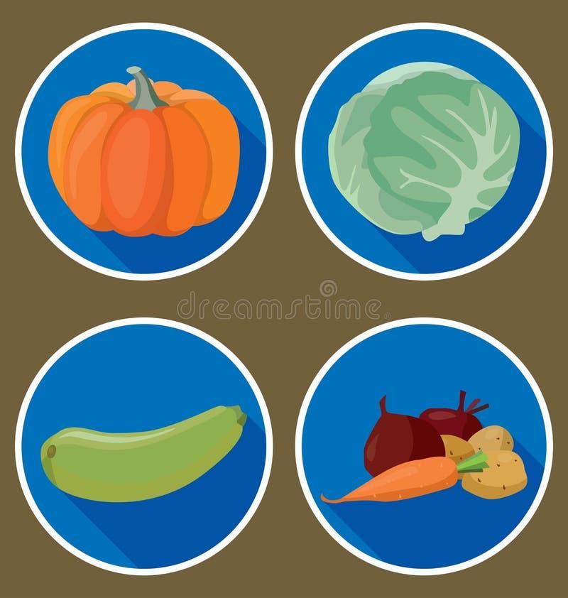 Warzywa ilustracja wektor