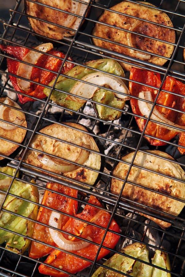 warzywa grilla zdjęcia stock