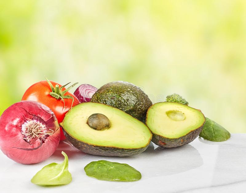 Warzywa jedzenia tło fotografia stock