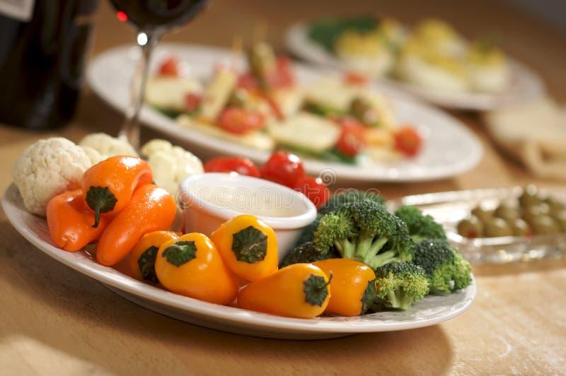 warzywa półmiska zdjęcia royalty free