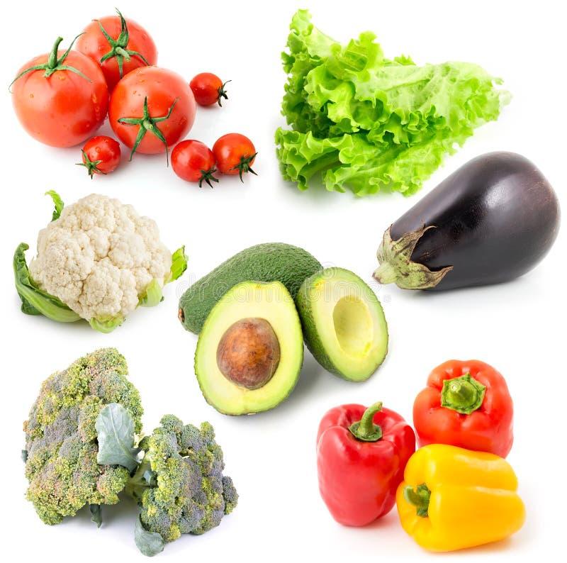 Warzywa ustawiają 9 obrazy stock