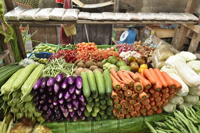 Warzywa w rynku obrazy stock