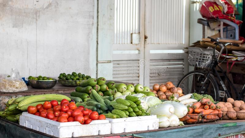 Warzywa w rynku obraz stock
