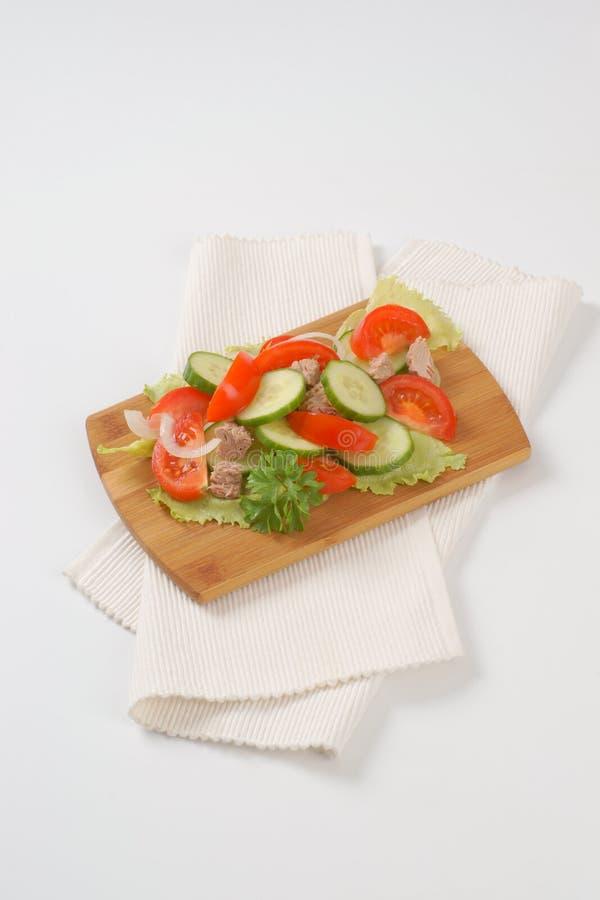 Warzywa z tuńczykiem zdjęcia royalty free