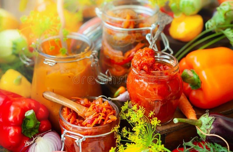 warzywa zakonserwowane obrazy stock