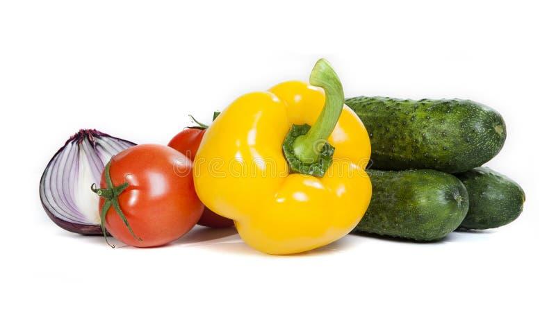 Warzywo odizolowywający na białym tle obraz stock
