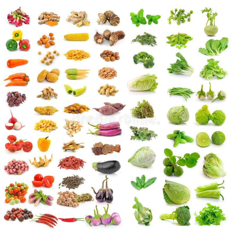 Warzywo, ziele, pikantność odizolowywać na białym tle zdjęcia royalty free