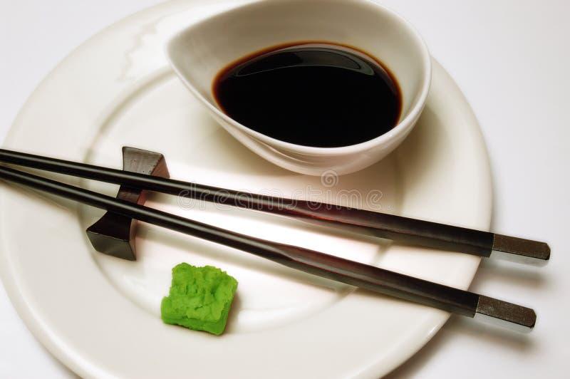wasabi arkivfoto