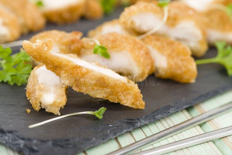 Wasabi kurczak zdjęcia stock