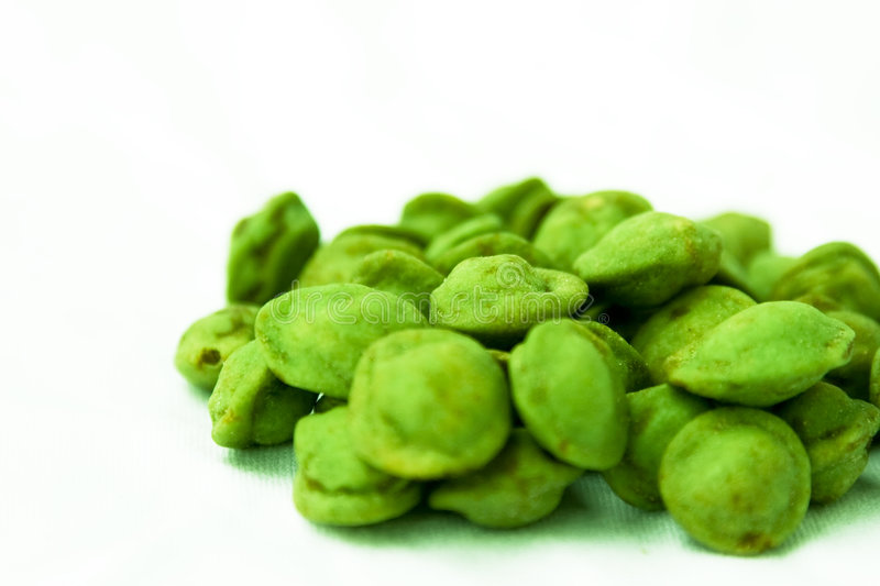 Wasabi Nuts stock images