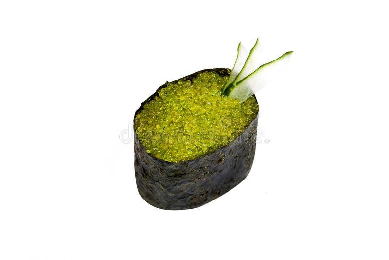 Wasabiko do susi de Gunkan imagens de stock