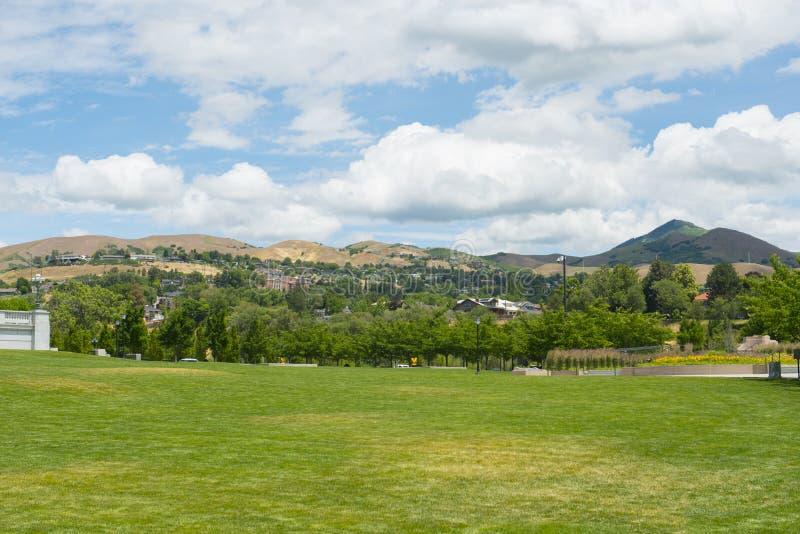 Wasatch山,盐湖城,犹他,美国 免版税库存照片