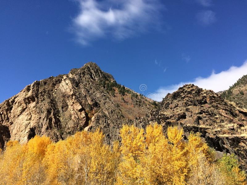 Wasatch Mountain State Park stock image