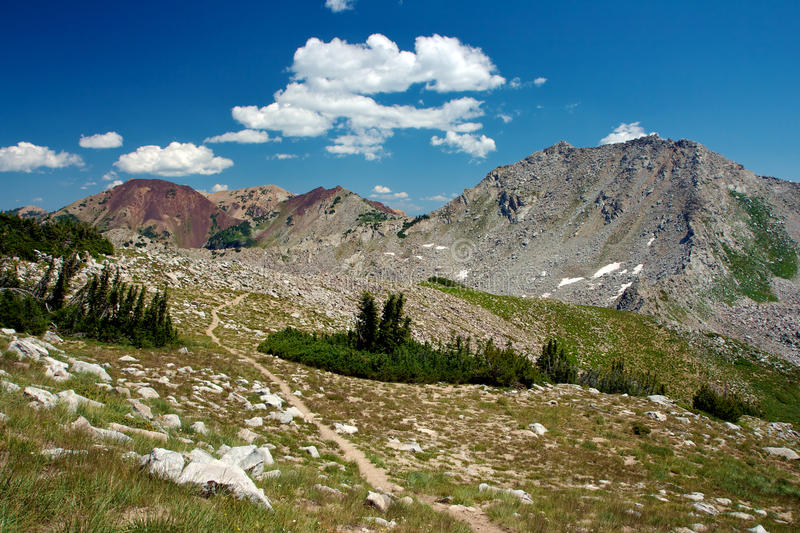 Download Wasatch Peaks stock image. Image of hiking, states, white - 21804313