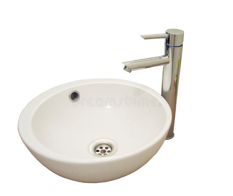 Waschbecken stockbild