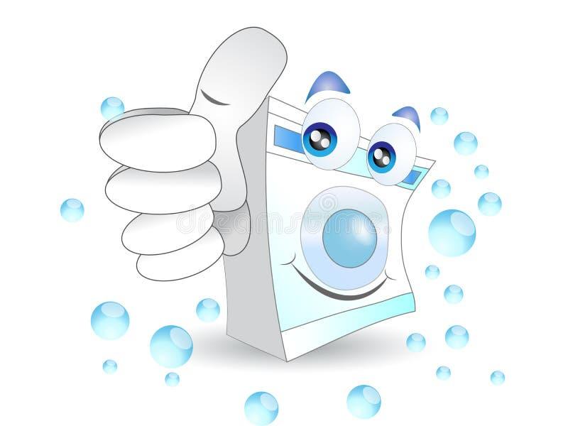 Waschmaschine stock abbildung
