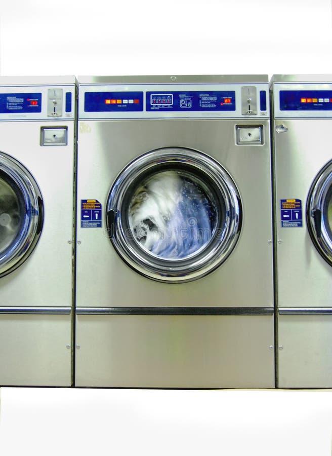 Waschmaschine in der Mittler-Schleife lizenzfreies stockfoto