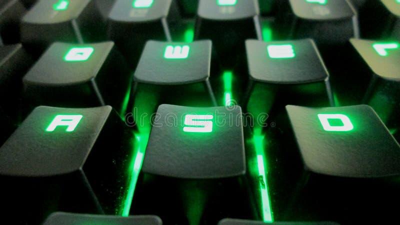 WASD Keys stock photo