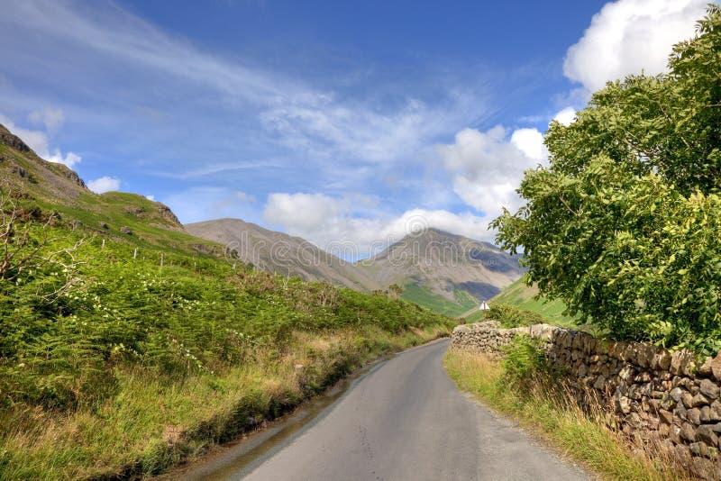 Wasdale głowa, Cumbria zdjęcie stock