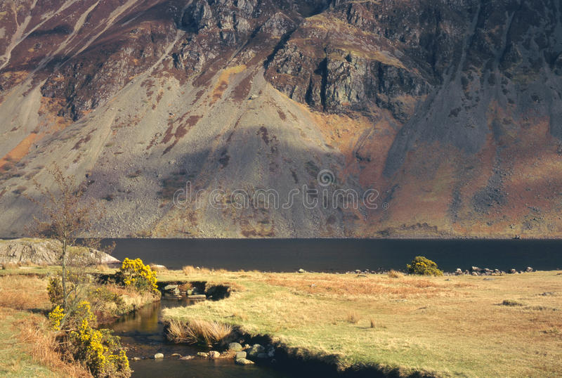 Download Wasdale screes, Cumbria stock photo. Image of mountains - 23095904