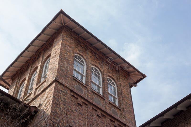 Waseda hoshien la tour de maison de séminaire photographie stock