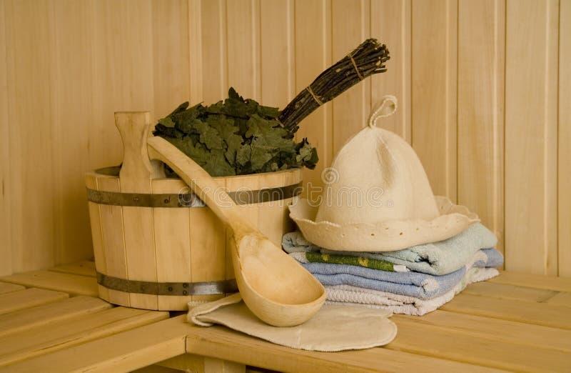 Wash-tub mit Schaufel stockfoto
