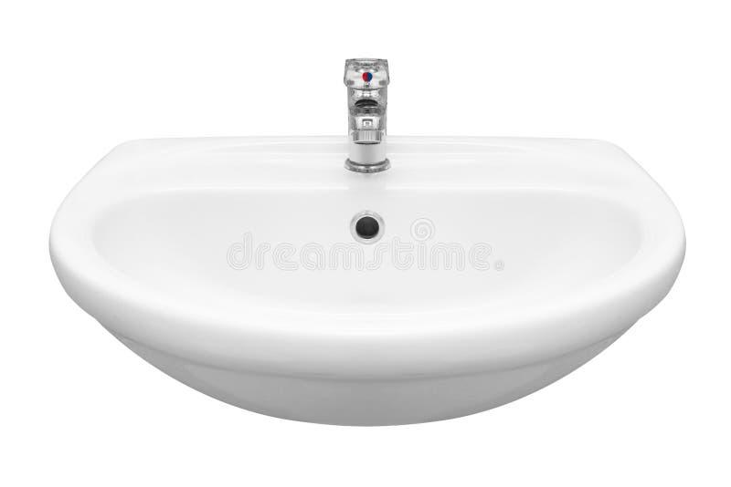 Washbasin stock photo