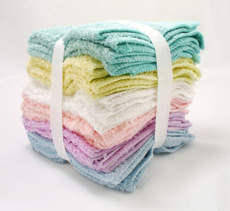 Washcloth stock photo