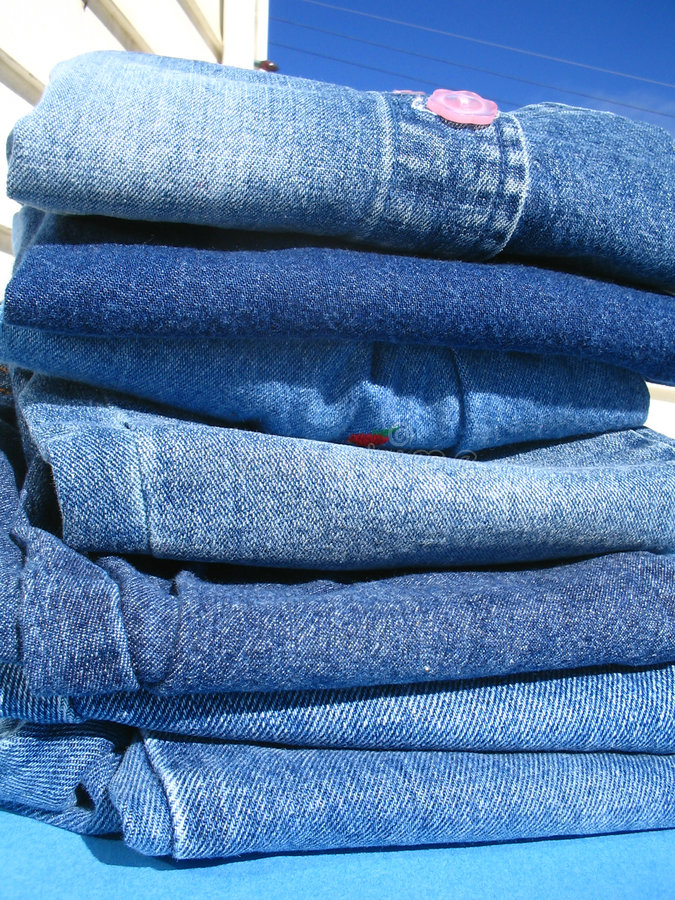 Download Washday blues stock image. Image of folds, designers, vertical - 177519