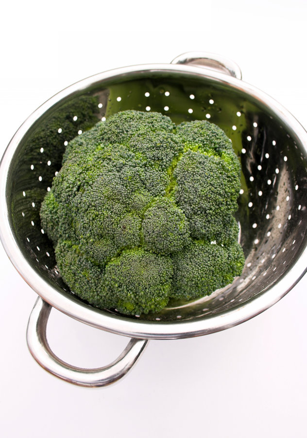 Download Washed Broccoli Stock Photography - Image: 189072