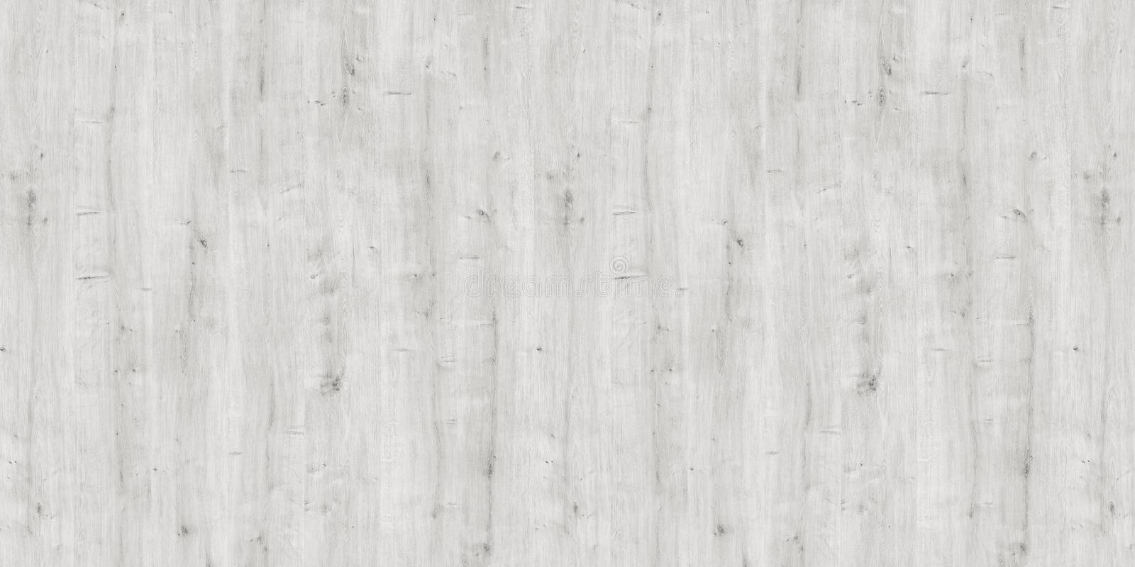 Washed white wooden planks, wood texture background royalty free stock photo
