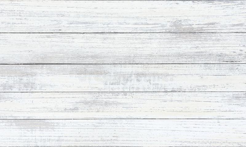 Washed wood texture, white wooden abstract background royalty free stock photo