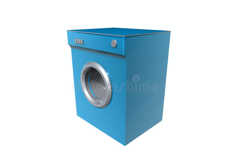 Washer. A washer on white background stock illustration