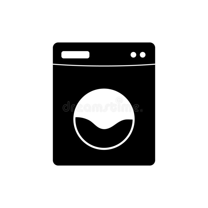 Washer vector icon. Vector illustration on white background vector illustration