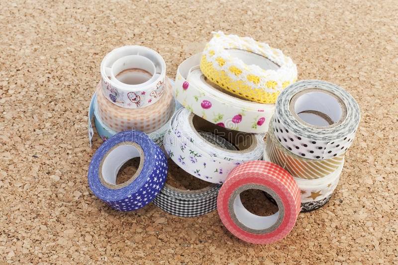 Washi-Band stockfoto