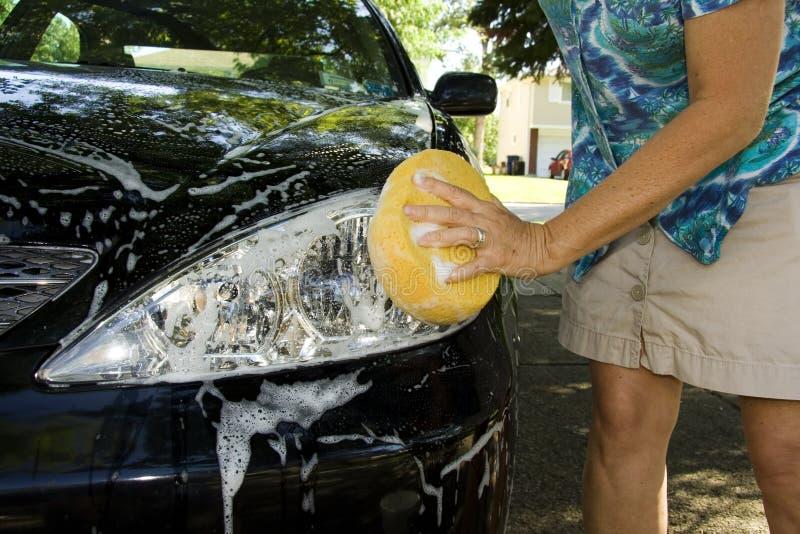Washing Car stock images