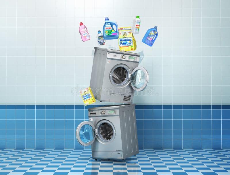 Washing concept. royalty free illustration