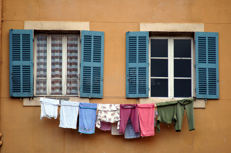 Washing day stock images