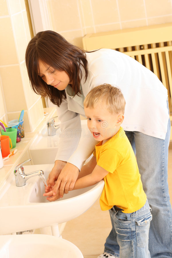 Download Washing hands stock photo. Image of hands, cleaning, teacher - 3207596