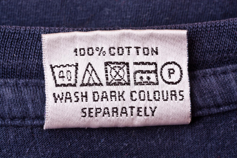 Download Washing instruction stock image. Image of garment, colours - 24982133